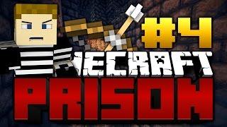 Minecraft: PRISON BREAK #4 - FLYING PICKAXE
