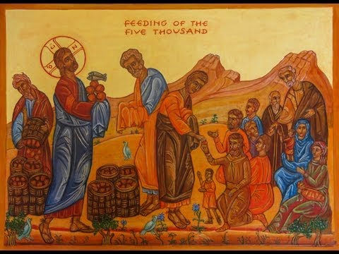 Feeding The Five Thousand A Reflection On The CAFOD Icon