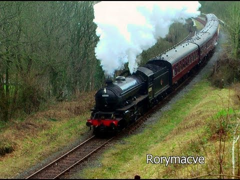 (HD) The East Lancashire Railway Steam Event 23/02/13