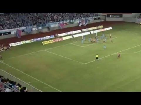 Gol OLIMPICO de KOKE para abrir el marcador ◉ Sagan Tosu 0-1 Atletico de Madrid ◉ 01/08/15