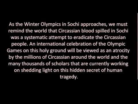 Putin IOC Speech - Lies About The Sochi Olympics - Hiding Truth Of Circassian Genocide