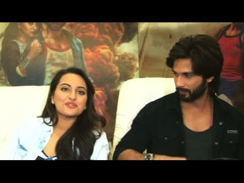 """We Are Very Happy With Response"" - Shahid & Sonakshi"