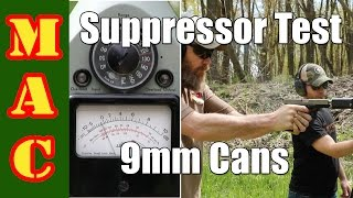 Testing 9mm Suppressors