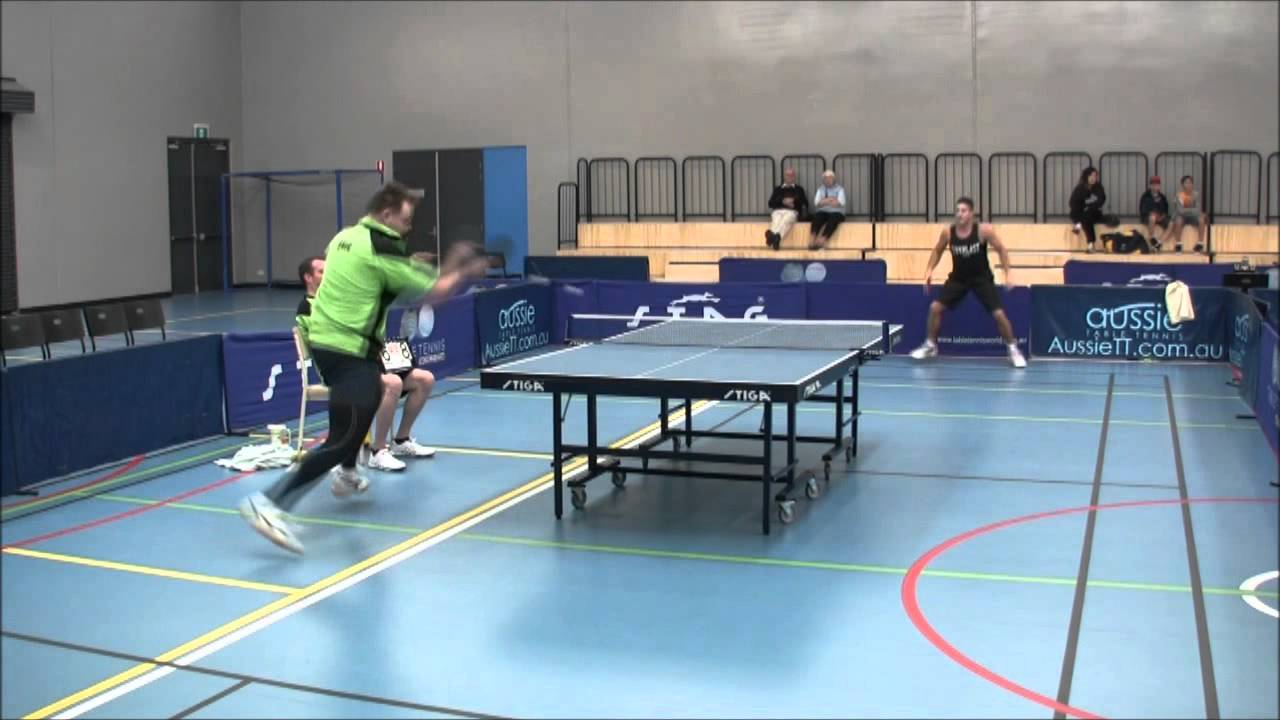 Antispin Vs Long Pips Gio Vs Greg Table Tennis Maccabi