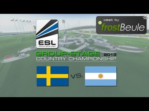 ESL Country Championship 2013: Sweden vs. Argentina - casted by frostBeule