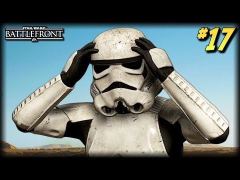 STAR WARS Battlefront - Unfortunate Moments #17 (Funny Explosions and Random Moments!)
