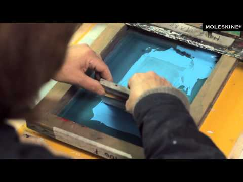 Moleskine Silk Screen Printing