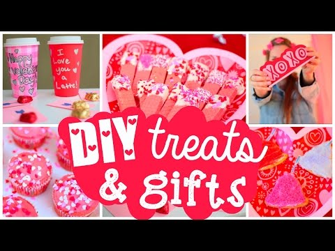DIY Valentine's Day Treats & Gifts ♡ Cute Easy Ideas!