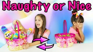 NAUGHTY OR NICE EASTER SWITCH UP CHALLENGE