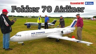GIANT RC FOKKER 70 AIRLINER