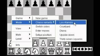 Шахматы Фишера. Советы по стратегии и тактике игры против компьютера. Партия в Фишеровские шахматы