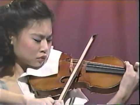Young Sarah Change makes a violin do incredible things.