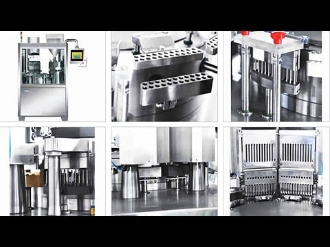 capsule filling machines fully automatic pharmaceutical equipment Machines de remplissage gélules