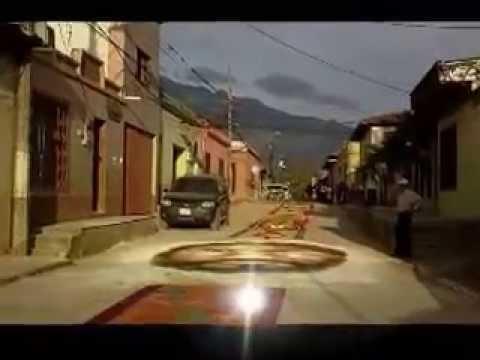 Honduras Tierra bella, Gracias  Lempira, fuerte San Cristobal, Alfombras