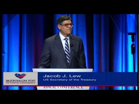 U.S. Treasury Secretary, Jack Lew,  booed loudly at the annual Jerusalem Post Conference in NY; JBS
