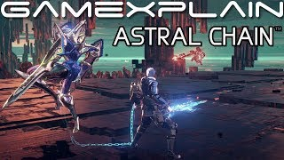 5 Minutes of Astral Chain Gameplay (DIRECT FEED)