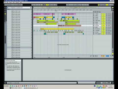 NUD - Daily Spring Routine(with Ableton live)trance Video