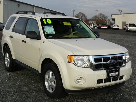 Used Car Maryland 2010 Ford Escape Xlt Review Youtube