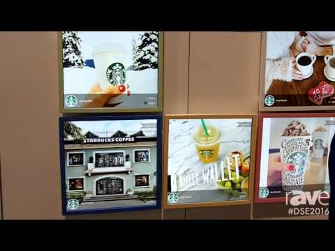 DSE 2016: SoundGraph Offers Square Digital Signage Display for Social Media or Digital Menu Board