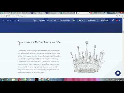 ELYSIAN ICO REVIEW - Nền tảng phi tập trung để xây dựng các trang web TMĐT trên blockchain