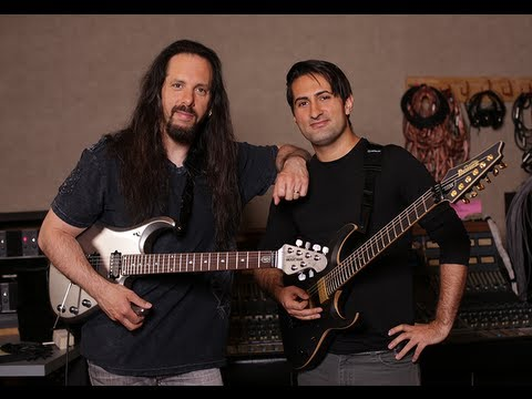 John Petrucci and Jake Bowen