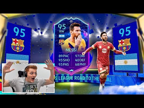 OMFG HUGE IF MESSI & ROAD TO THE FINAL PACK OPENING!!!!