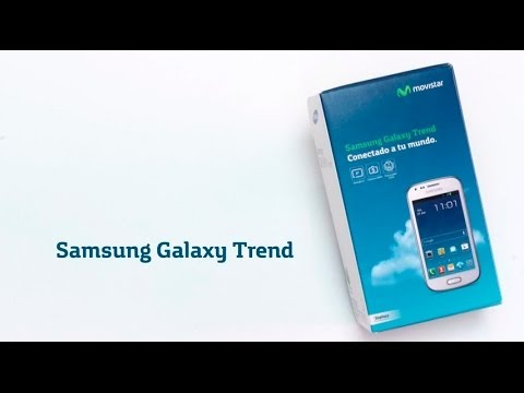 MOVISTAR - Samsung Galaxy Trend Unboxing