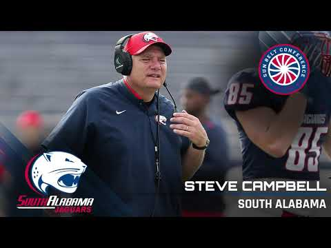 South Alabama Head Coach Steve Campbell: 9/17 Media Teleconference