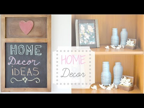 Home Decor Ideas & DIY | Shelves Decoration