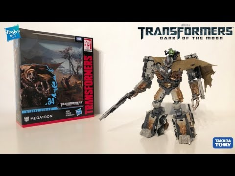 Transformers Studio Series 34 DOTM Leader Class Megatron Review