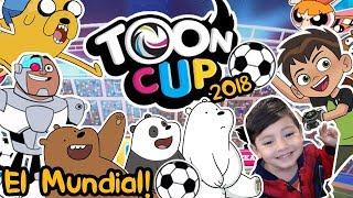 Toon Cup 2018 Gameplay | Futbol para niños Cartoon Network | Juegos para niños