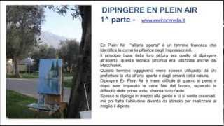 Dipingere en plein air - TUTORIAL COME DIPINGERE A OLIO