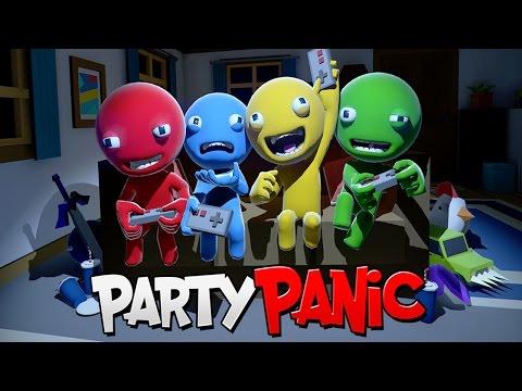 САМАЯ СМЕШНАЯ ИГРА В МИРЕ ► Party Panic (Мини игры,Угар)