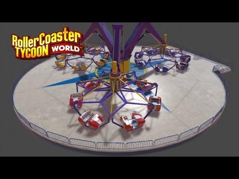Roller Coaster Tycoon World News | Flat Ride Sneak Peek (Production Blog #14)