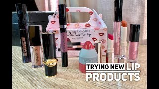 Trying New Lip Products: Sephora Give Me Lip Kit Plus More
