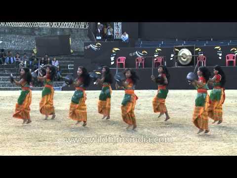 Fantastic dance by Bodo girls!