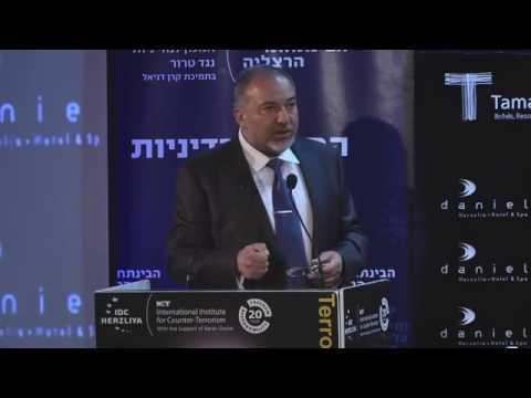 ICT's 14th Annual International Conference - Day 2 - The Honorable Avigdor Lieberman