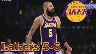 Lakers Beat The Minnesota Timberwolves 114-110, Five #Lakers Score In Double Digits November 7, 2018
