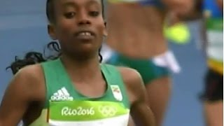 Ethiopian Almaz Ayana had been through to the finalist for women Atlate of the year award
