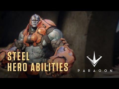 Paragon - Steel Hero Abilities - Gameplay Video
