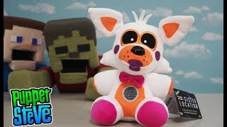 FNAF LOLBIT Funko Plush Five Nights at Freddy's Sister Location Review Exclusive Puppet Steve
