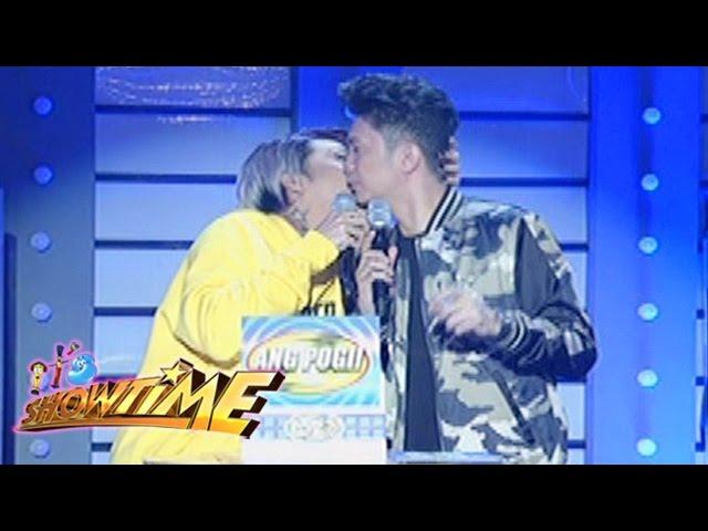 It's Showtime: Vice kisses Vhong!