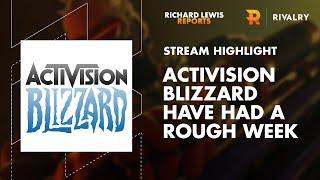 Live Stream: Activision Blizzard's Rough Week