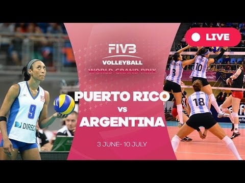 Puerto Rico v Argentina - Group 2: 2016 FIVB Volleyball World Grand Prix