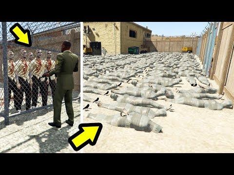 أخيرا بعد 5 سنين من خروج اللعبة إكتشفت أخطر منطقة في جي تي أي 5   GTA V Quarantine Area