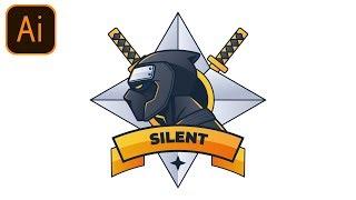 FREE Esports Gaming Logo #5 | Clan/Team/Esport/Mascot | Adobe Illustrator Free Logo Templates