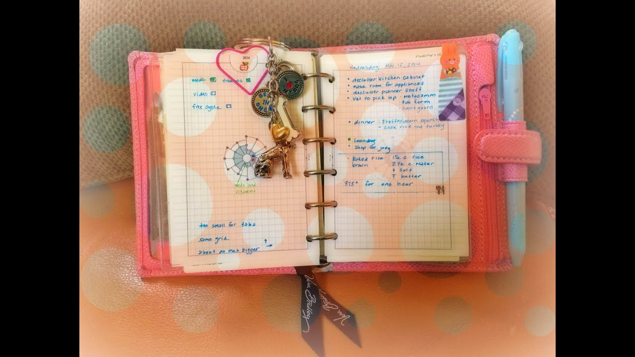 2015 planner line up begins with my filofax pink pocket