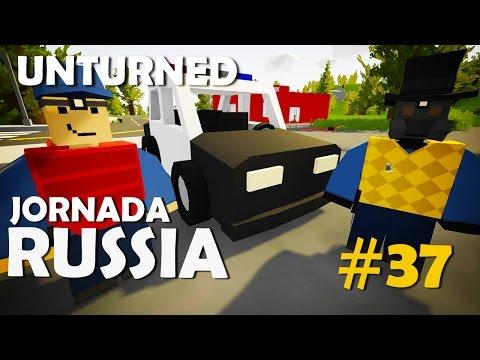 Unturned - Jornada Russia #37: Tiras da Pesada! (Ft. Dead)