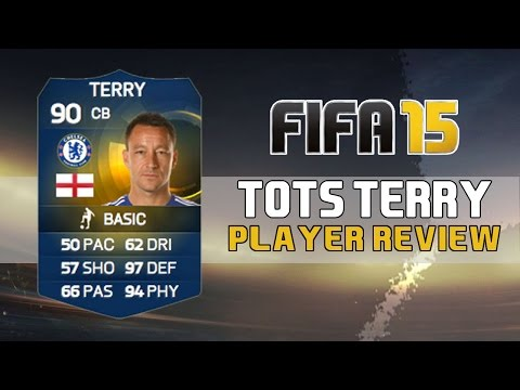 TOTS 90 JOHN TERRY Player Review - Fifa 15 Ultimate Team