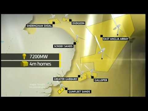 0 Anglia News Frinton On Sea Offshore Wind farms Gunfleet Sands & Essex Rehab Clinic Closed Down